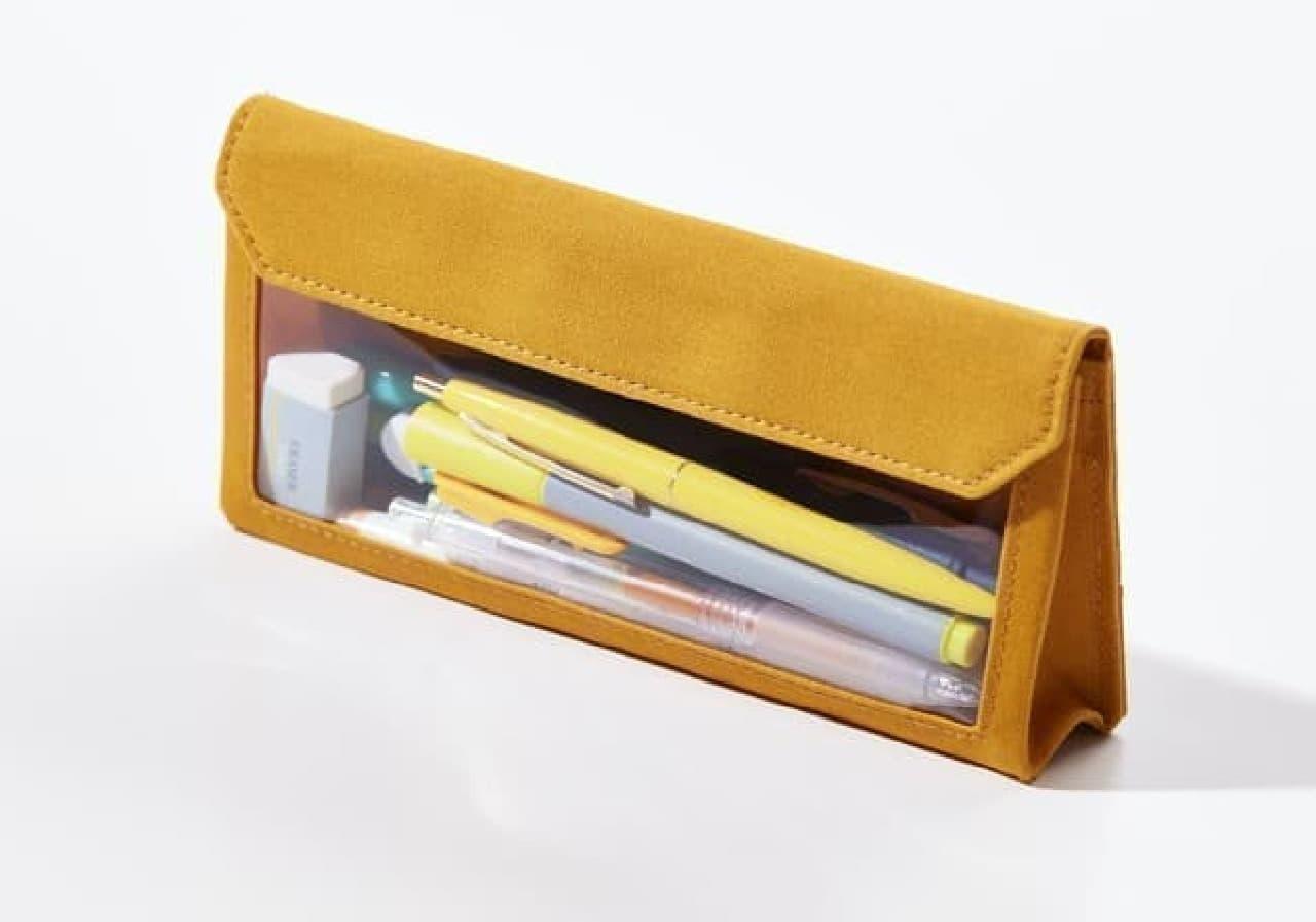バッグインバッグ「フラッティ ワークス」に可愛いミモザ柄 -- ペンケースタイプも新登場