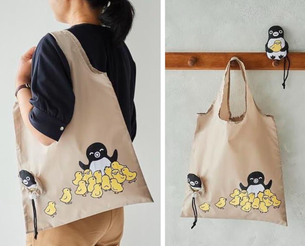 「Suicaのペンギン 軽量エコバッグ」NewDaysに