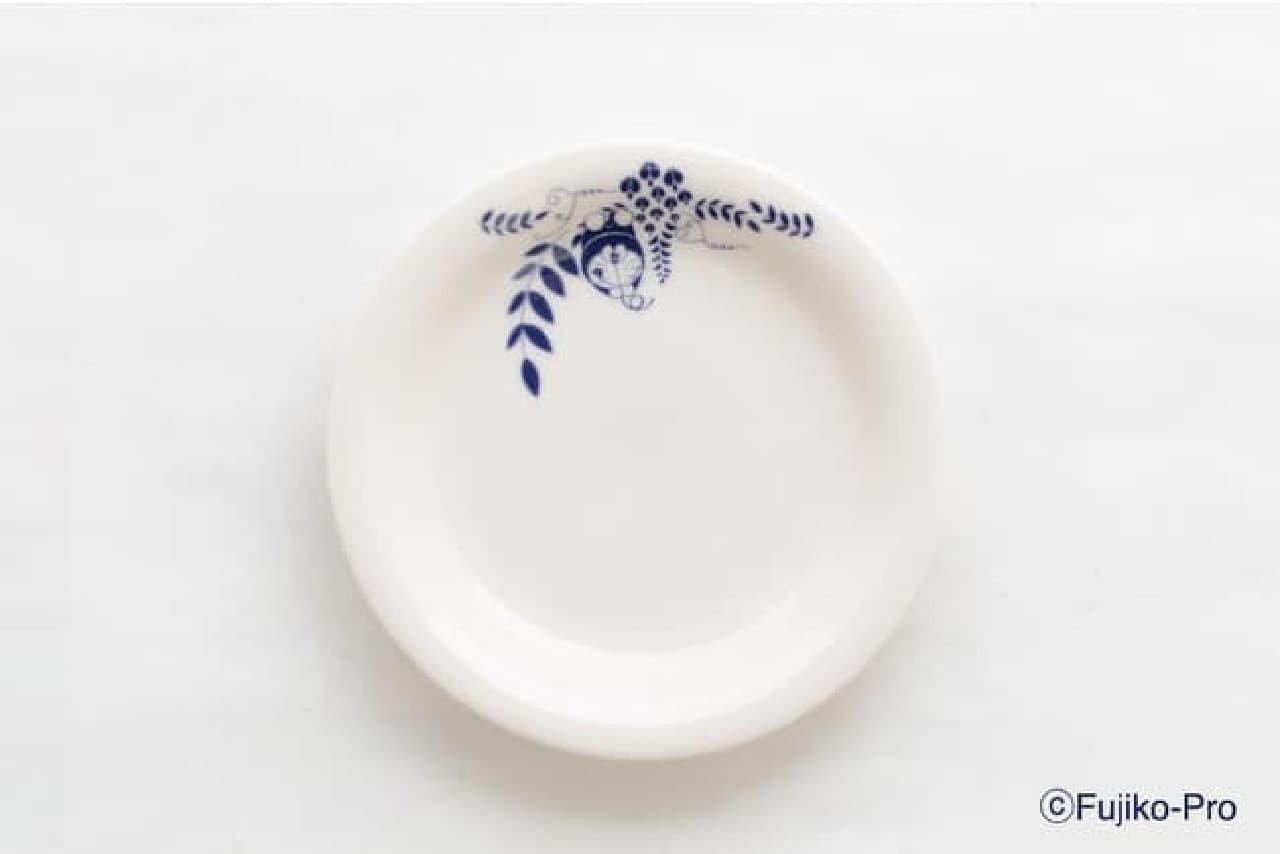 「藤子・F・不二雄ミュージアム」オリジナル食器がオンライン販売!藤の花&ドラえもん柄