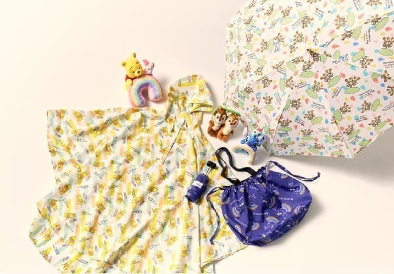 カラフル&ポップ♪ ディズニーストアのレイングッズ -- 傘・ポンチョなど