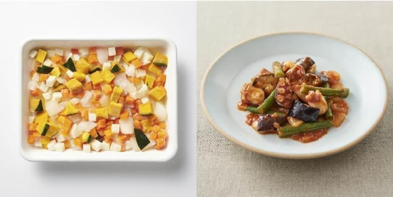 無印の冷凍食品新シリーズ!カット野菜・ミールキットで簡単調理