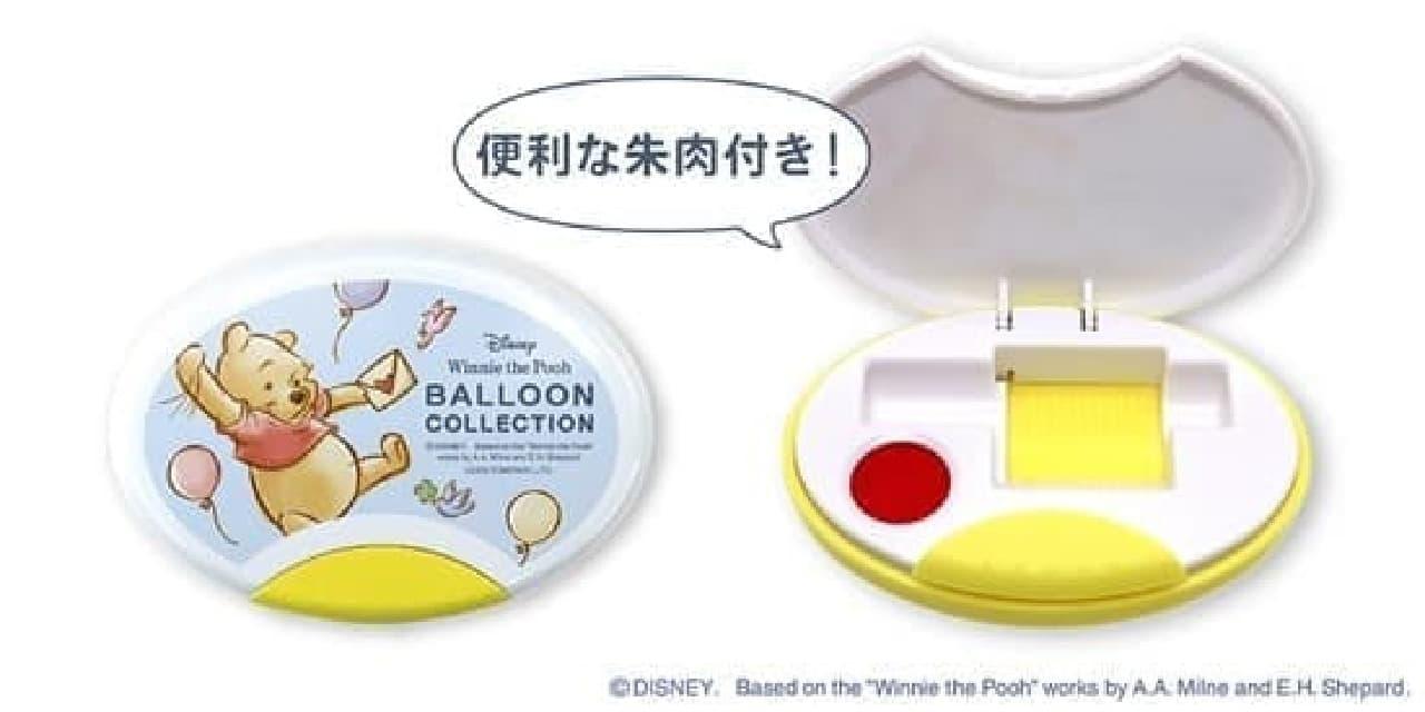 「くまのプーさんグッズ ~BALLOON COLLECTION~」郵便局に -- トートバッグ・印鑑ケースなど