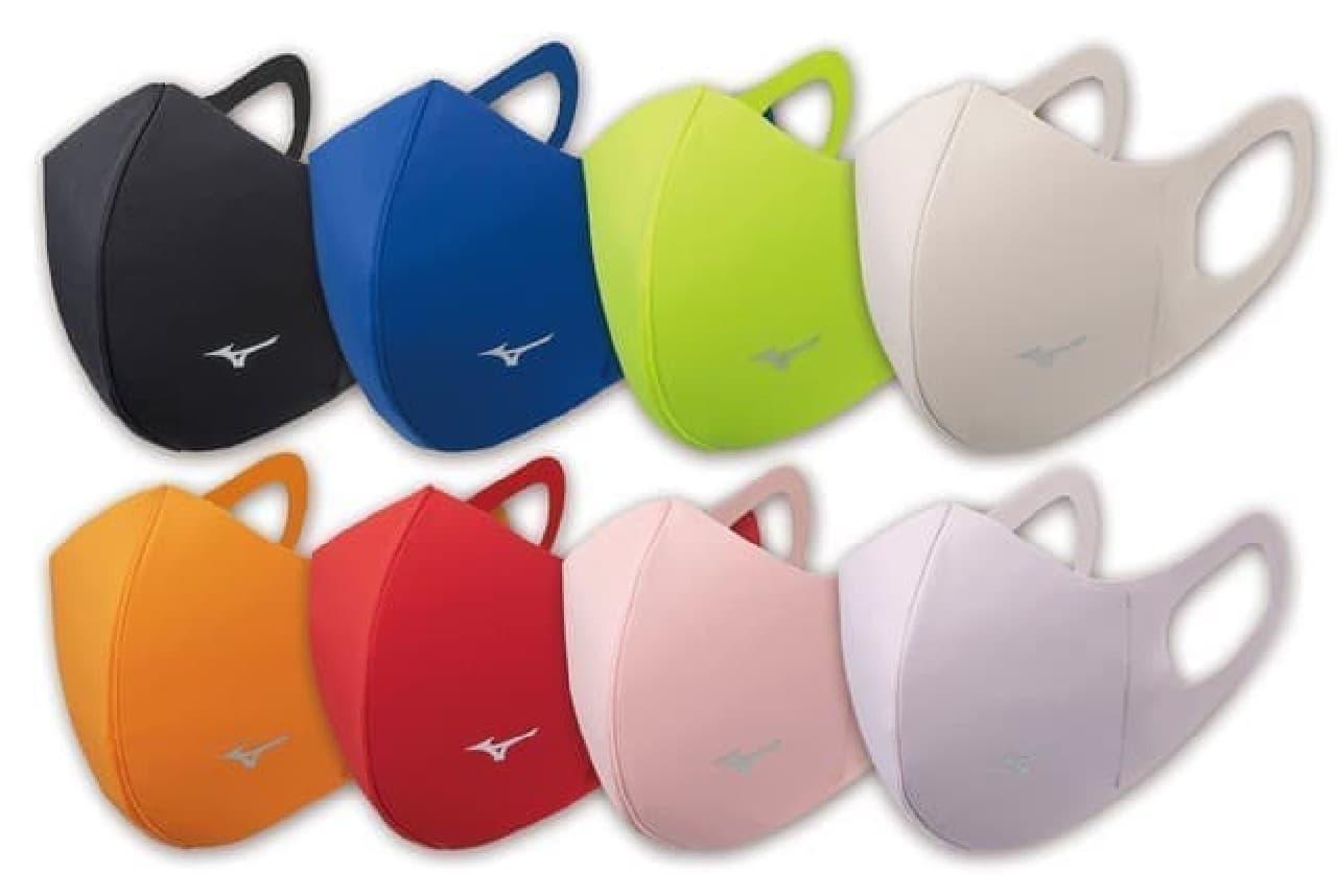「ミズノマウスカバー」新色8カラー -- フィット感アップ&XLサイズも