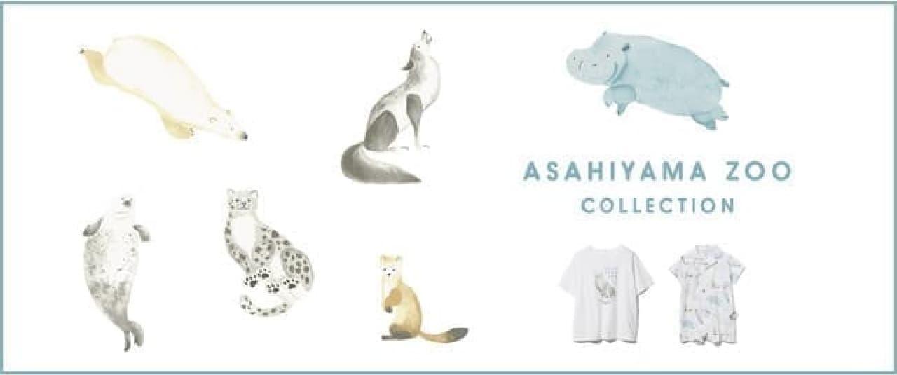 ジェラート ピケ「ASAHIYAMA ZOO COLLECTION」旭山動物園コラボのルームウェア・雑貨など