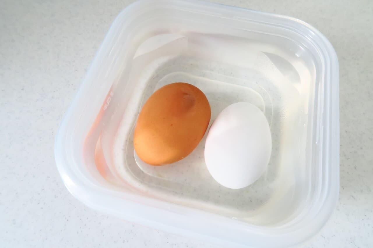 ダイソー卵の穴あけ器
