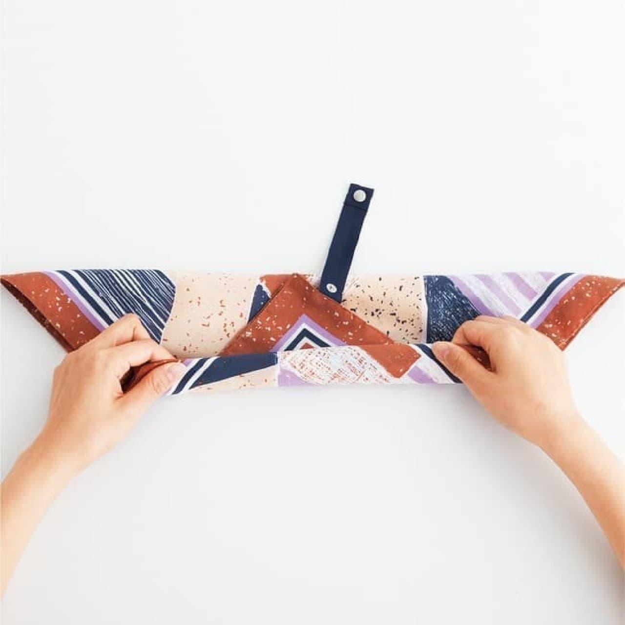 フェリシモ「スカーフエコバッグ」新作 -- 吉本悠美さんデザイン