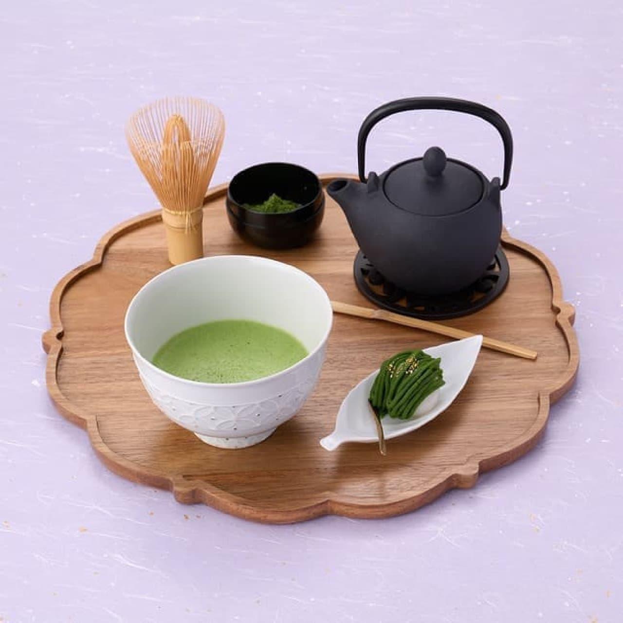 祇園辻利「極上の抹茶を嗜む茶器セット」こだわりの抹茶椀&最上級抹茶「建都の昔」