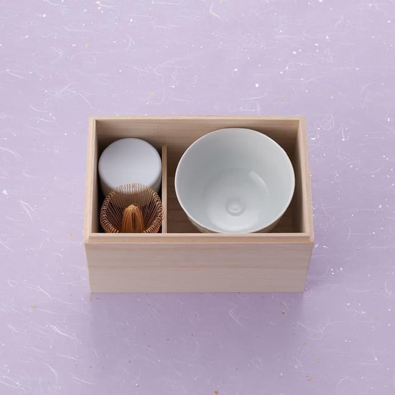 祇園辻利から「極上の抹茶を嗜む茶器セット」
