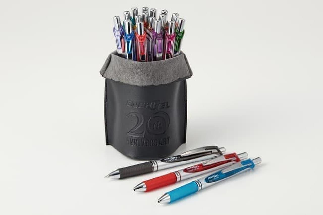 20周年記念!速乾ゲルインキボールペン「エナージェル」限定カラー -- 海外限定色も登場