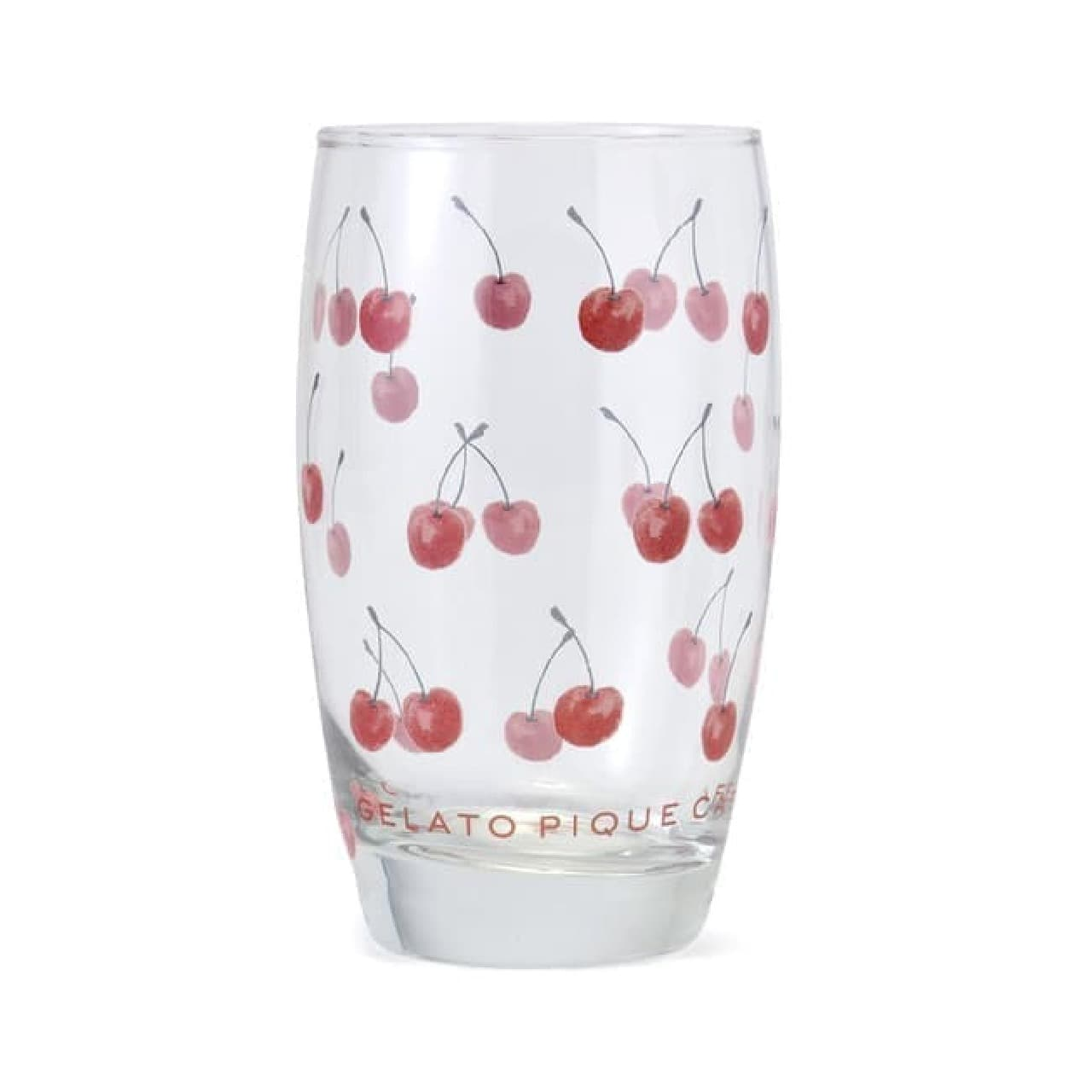 ジェラート ピケ カフェ「チェリーモチーフエコバッグ」可愛いグラス&ボウルも