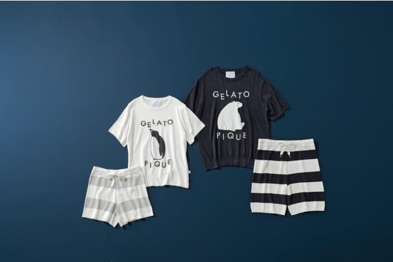 ジェラート ピケ「COOL FAIR」コレクション -- シロクマ&ペンギンの接触冷感ルームウェア