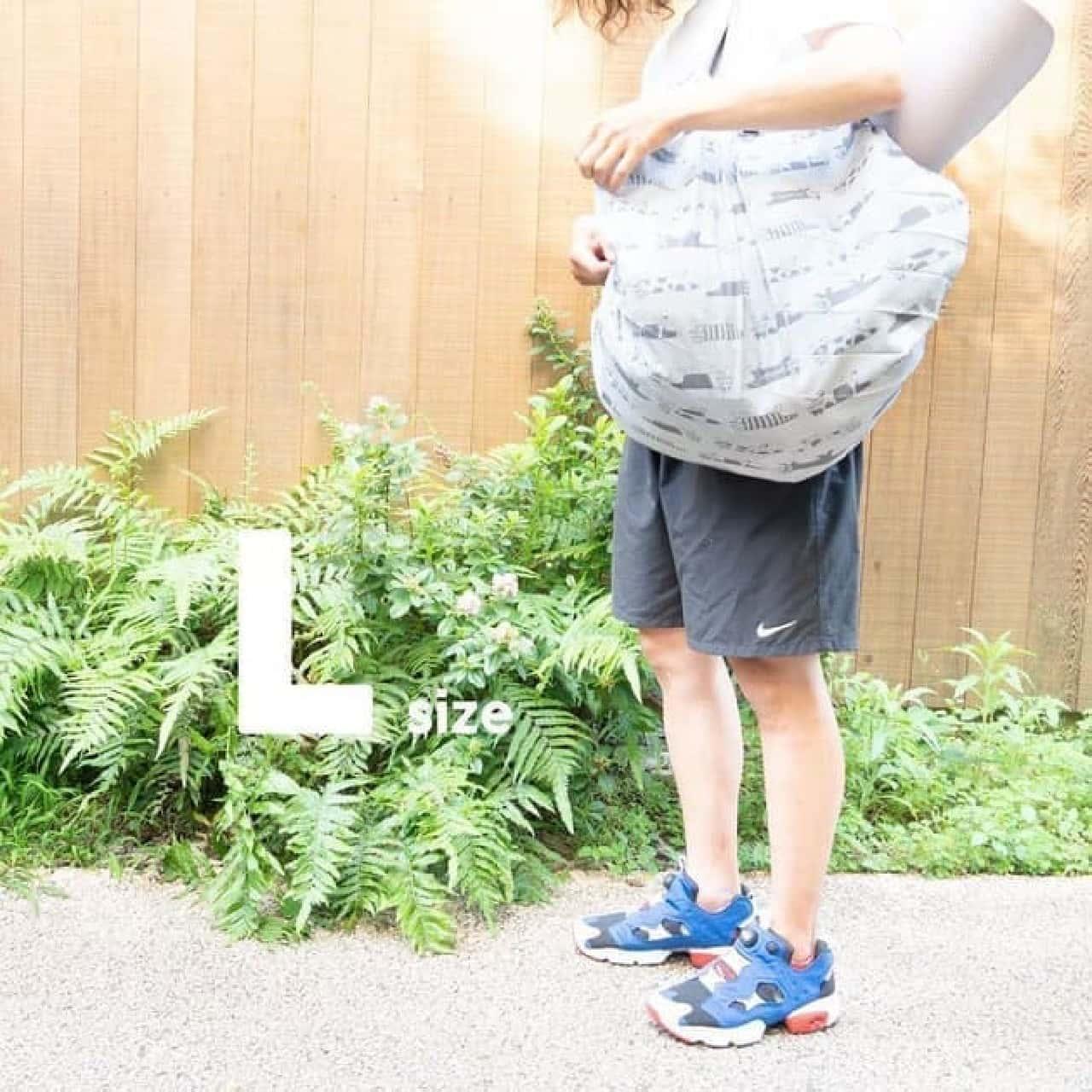 リサ・ラーソンのエコバッグ4点セット -- シュパットLサイズ・収納袋一体型など