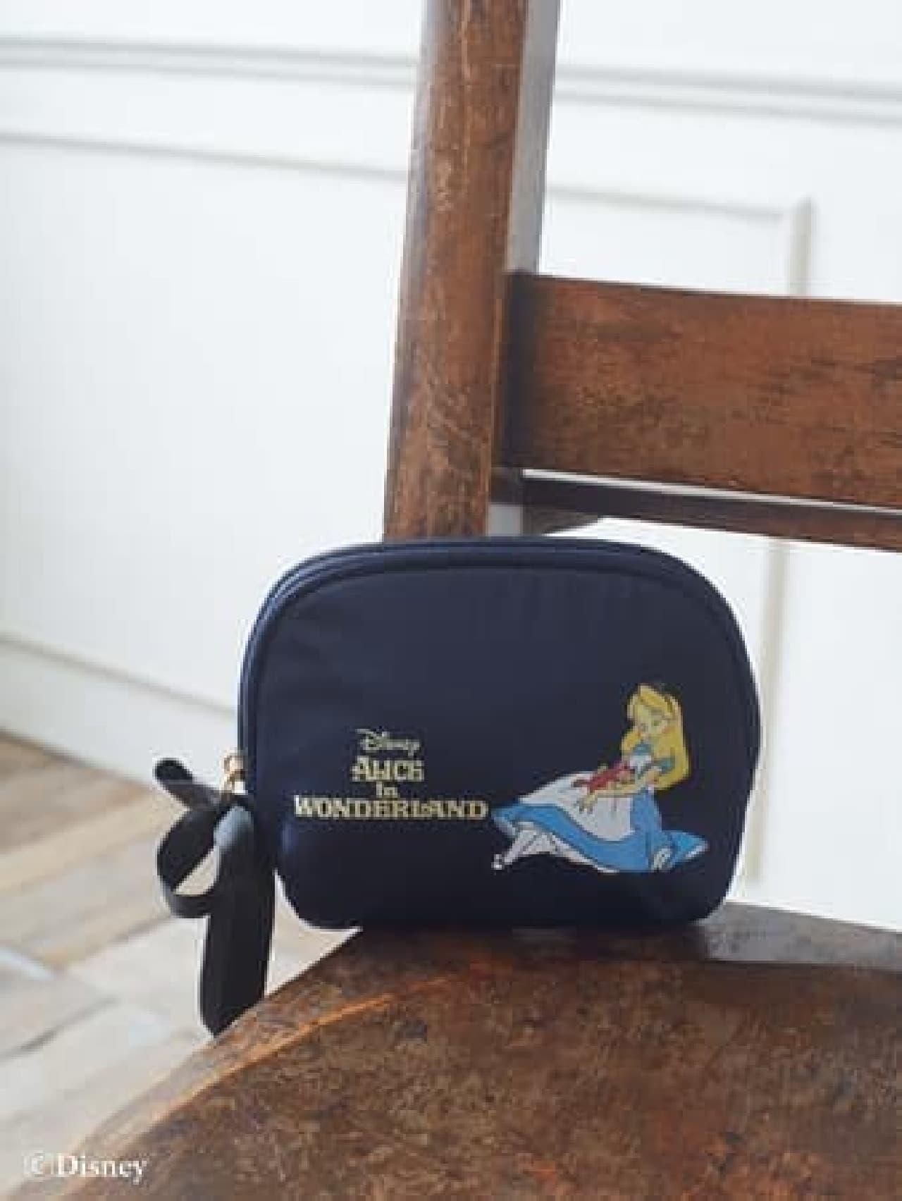 Maison de FLEUR「ふしぎの国のアリス」コレクション -- 上品なトートバッグ・ポーチなど
