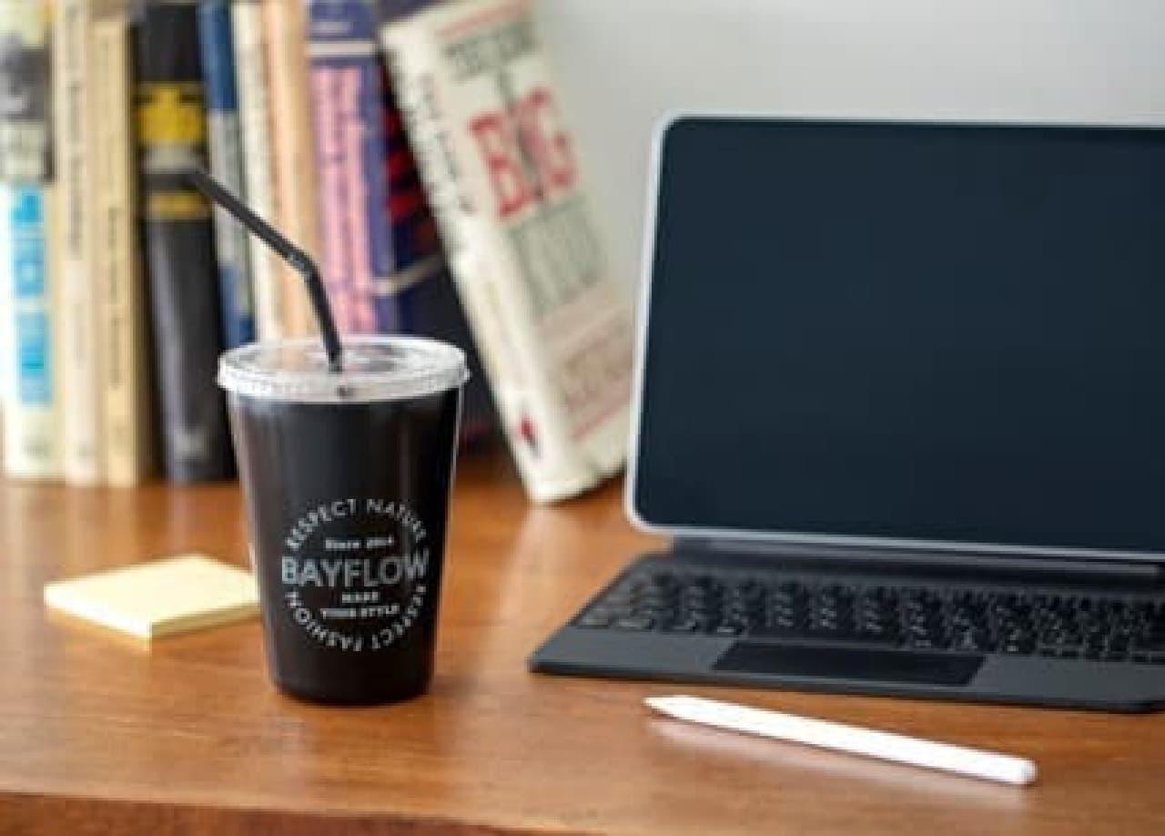 コンビニコーヒーの保温・保冷に役立つ「BAYFLOW CUP COFFEE TUMBLER BOOK