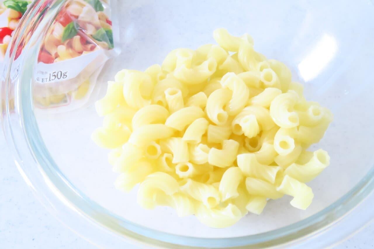 電子レンジで簡単!マカロニのゆで方 -- サラダ・お弁当のおかず作りに