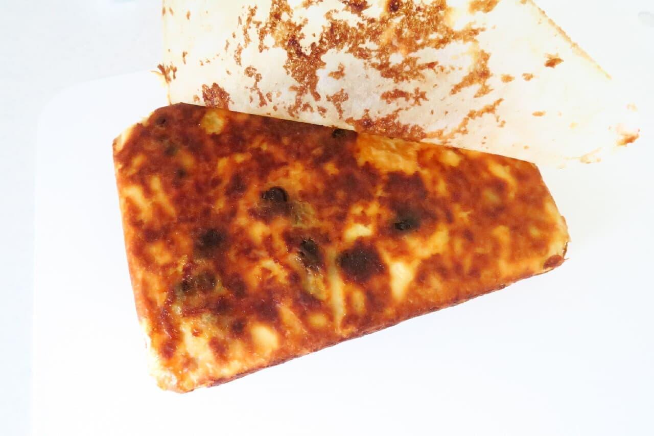 玉子焼き器で簡単♪ バナナチーズケーキのレシピ -- ヨーグルト&レーズン入りで爽やか