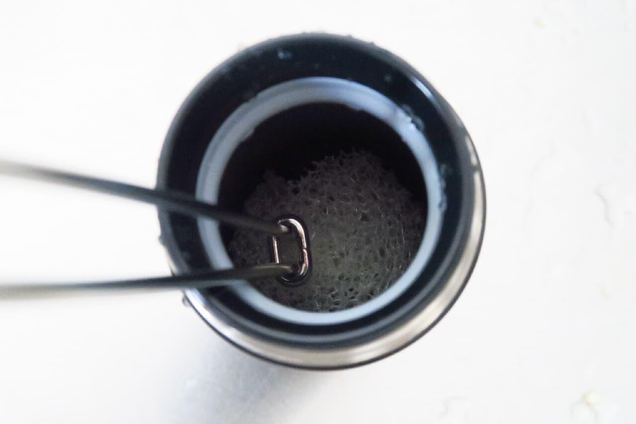 水切れ良し&交換OK♪ 無印「柄つきスポンジ」が水筒・麦茶ポットにおすすめ