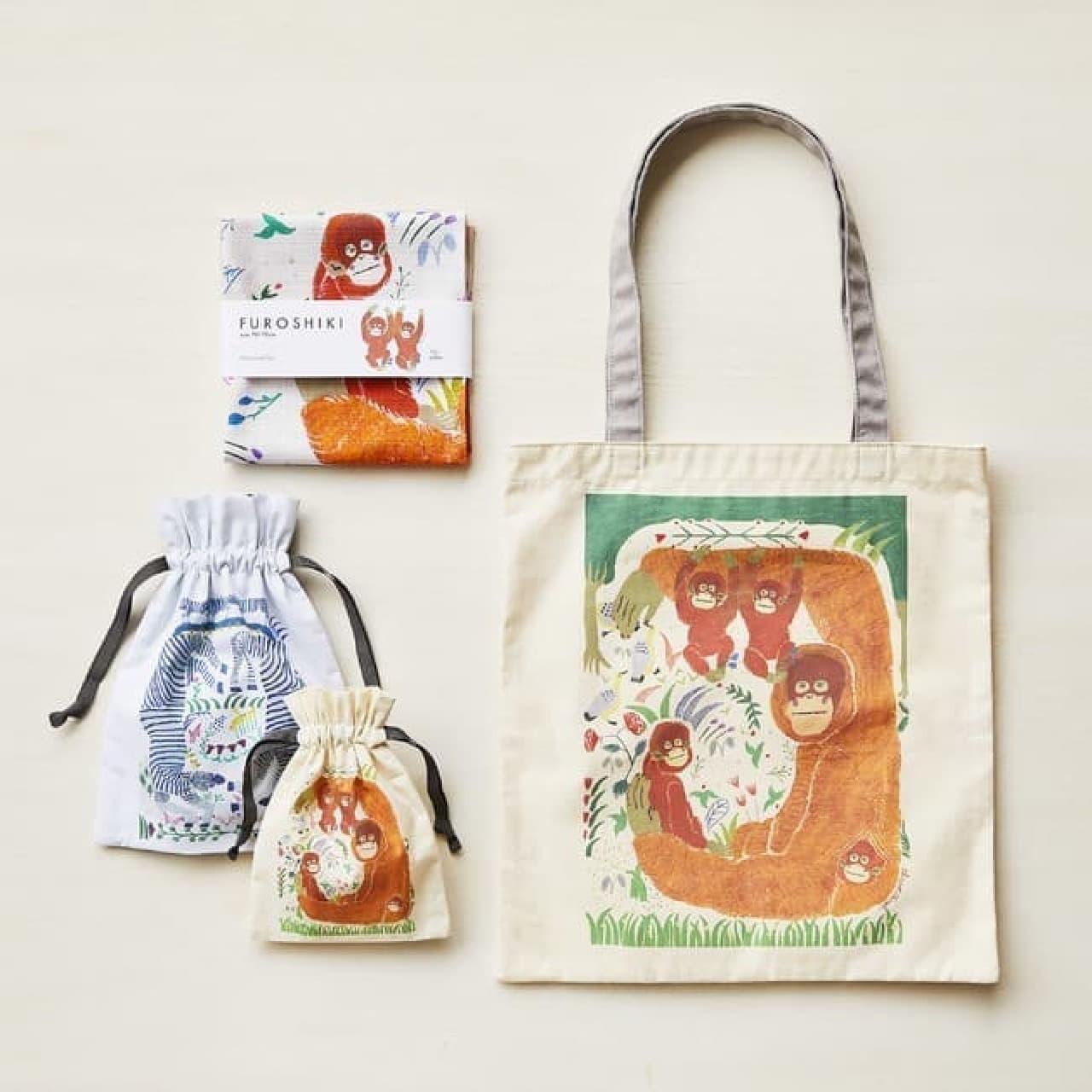【Afternoon Tea LIVING】エコ素材の弁当箱&ショッピングバッグ -- 売上一部は「more trees」に寄付