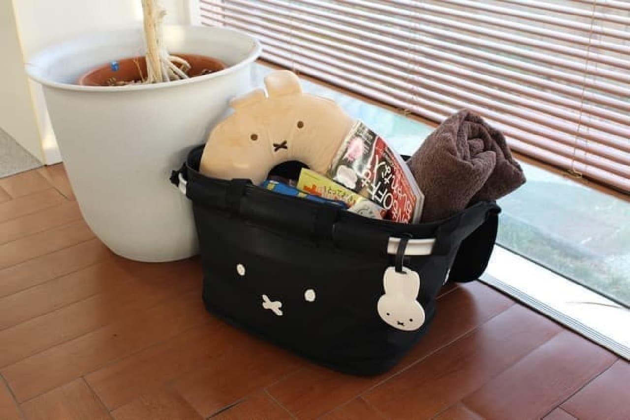 【ミッフィー】保冷アルミフレームカゴバッグ
