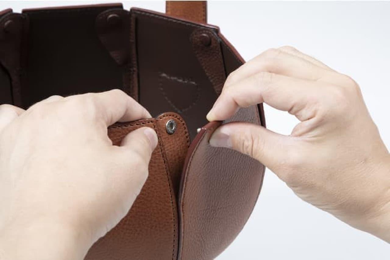 SNSで話題♪ 土屋鞄「スイカバッグ」発売 -- 大玉のスイカもすっぽり包む