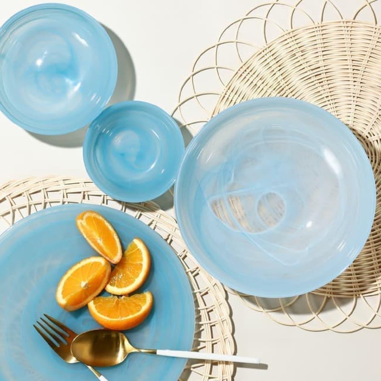Francfranc(フランフラン)」が、夏の新作テーブルウェアシリーズを展開。