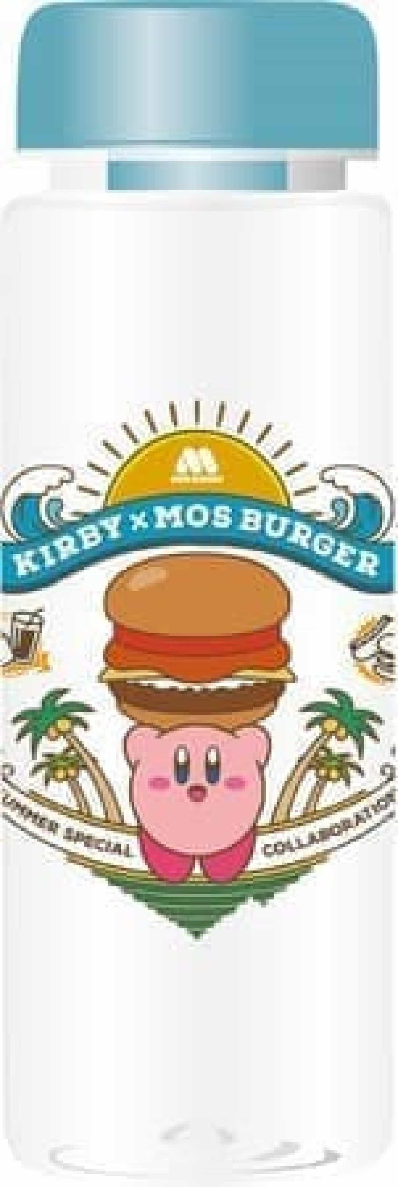 夏の福袋「モス×カービィ サマーラッキーバッグ」オリジナル雑貨4種+お食事補助券