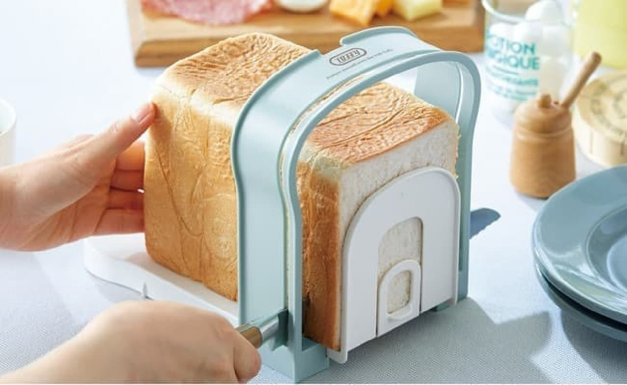 「Toffy 食パンスライスガイド」発売 -- 専門店のふわふわ食パンを好きな厚さに