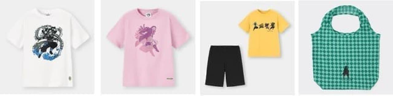 ユニクロ&ジーユーが「鬼滅の刃」とコラボ -- Tシャツ・バッグなど幅広いラインナップ
