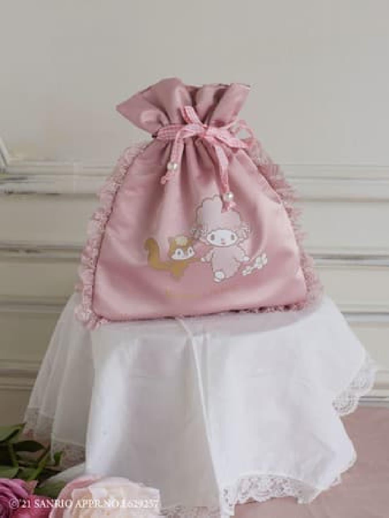 Maison de FLEUR×マイスウィートピアノがコラボ -- ピンクのトートバッグ・ぬいぐるみなど