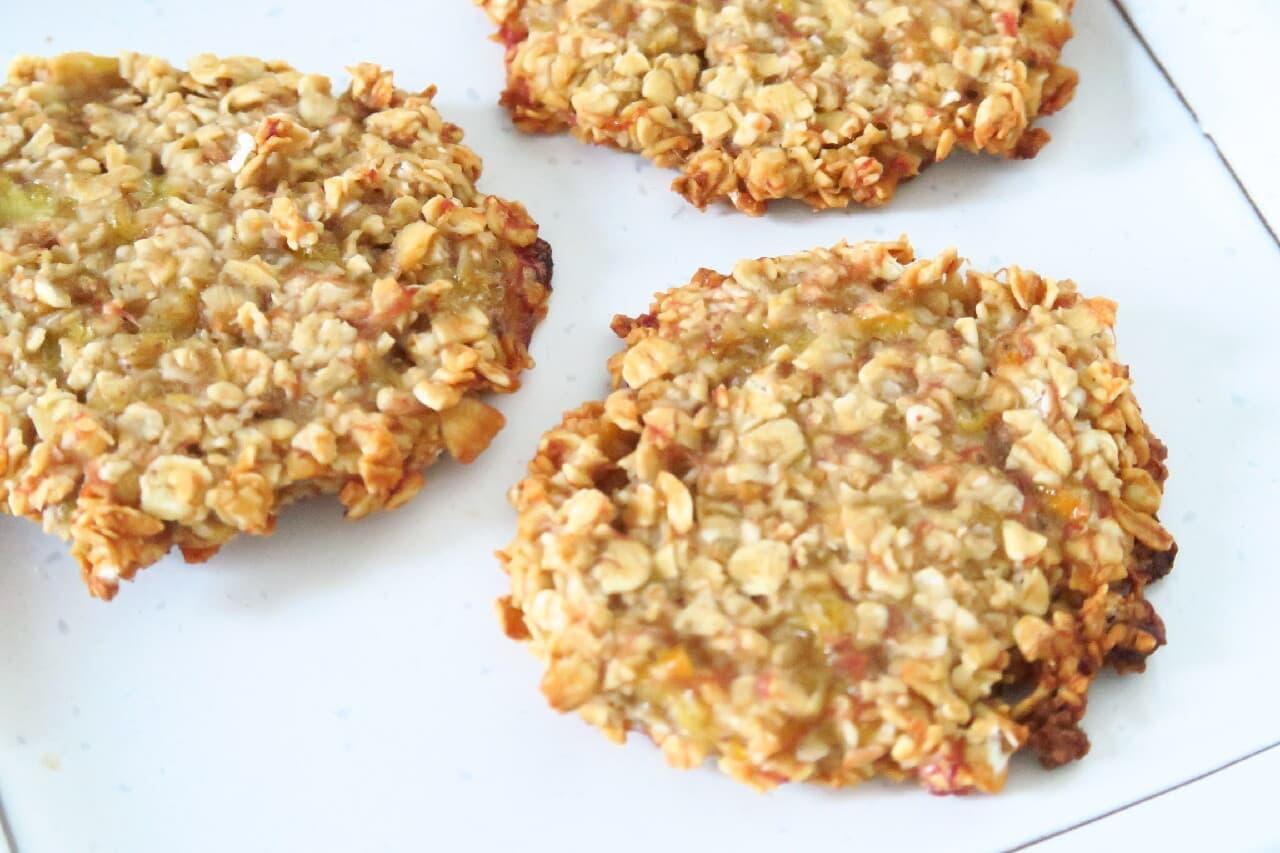 【レシピ】バナナ&オートミールで作る簡単クッキー -- 砂糖不使用のやさしい甘さ