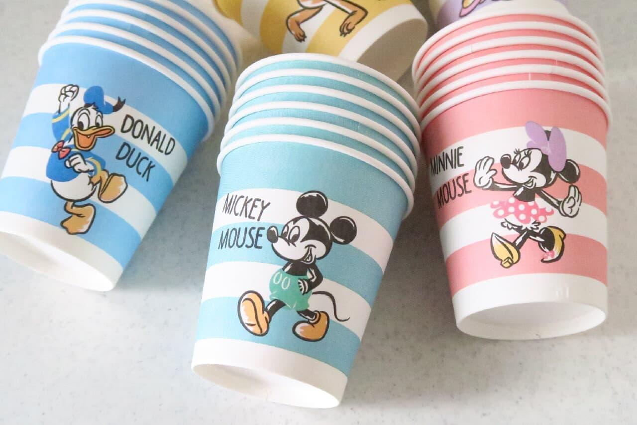 ダイソー「紙コップ ミッキー&フレンズ」が可愛い!たっぷり楽しめる5種類