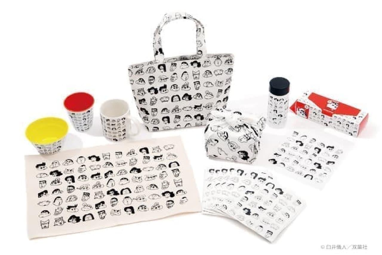 「ASOKO de クレヨンしんちゃん」発売 -- 雑貨ストア「ASOKO」オリジナルの57アイテム