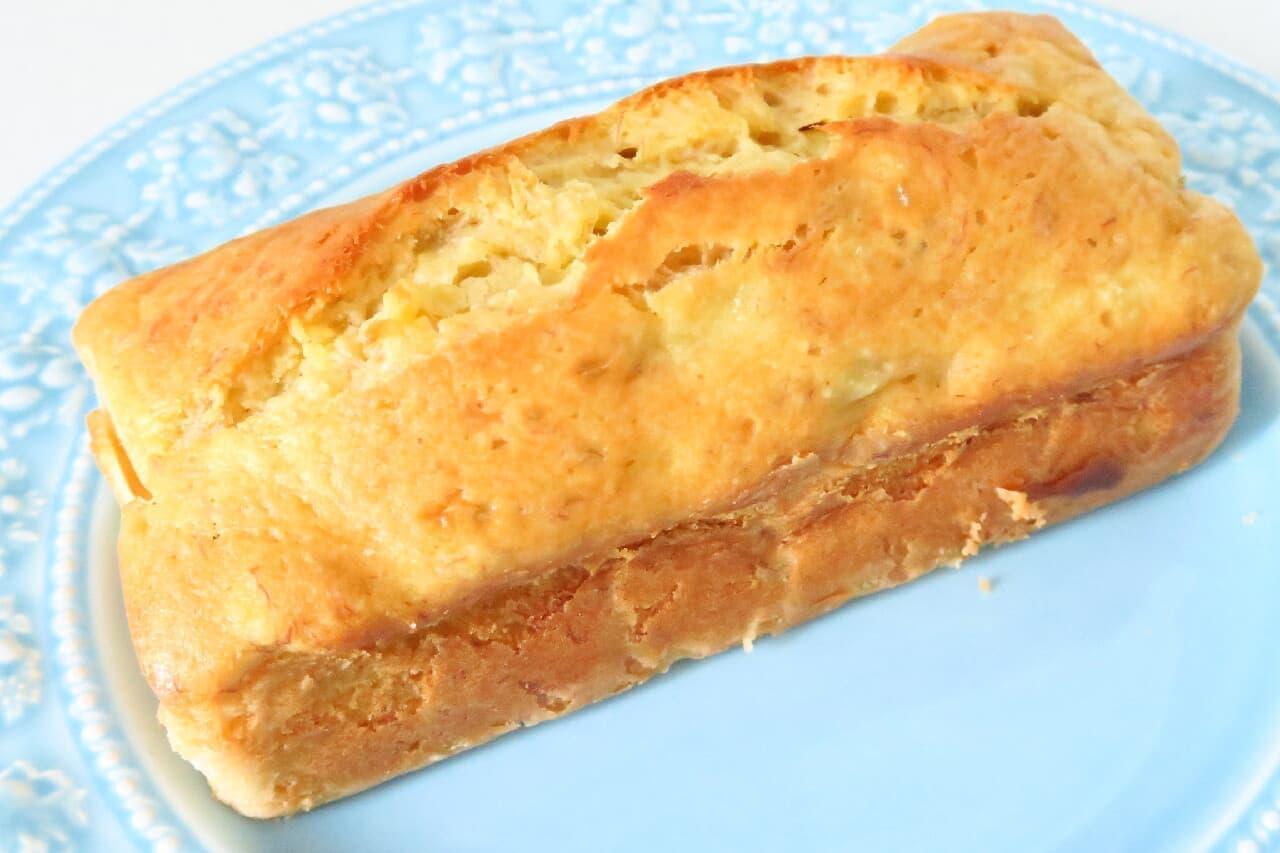バナナケーキのレシピ