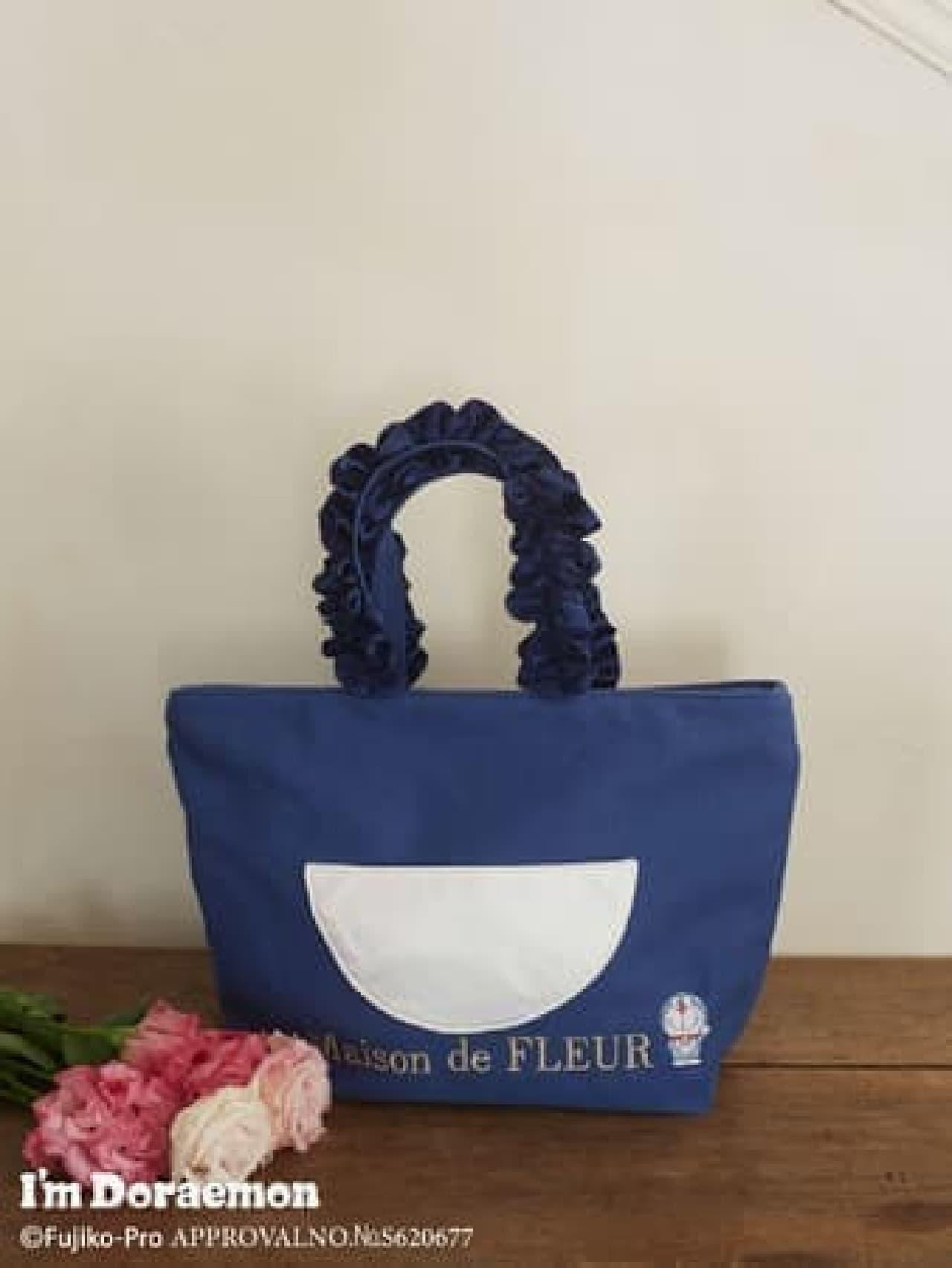 Maison de FLEUR×サンリオデザイン「アイムドラえもん」コレクション -- ポップで可愛いトートバッグなど