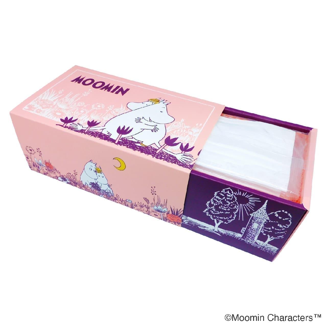 「ムーミン30枚入りBOXマスク」発売 -- 大人可愛いキャラクター&持ち運びやすい個包装