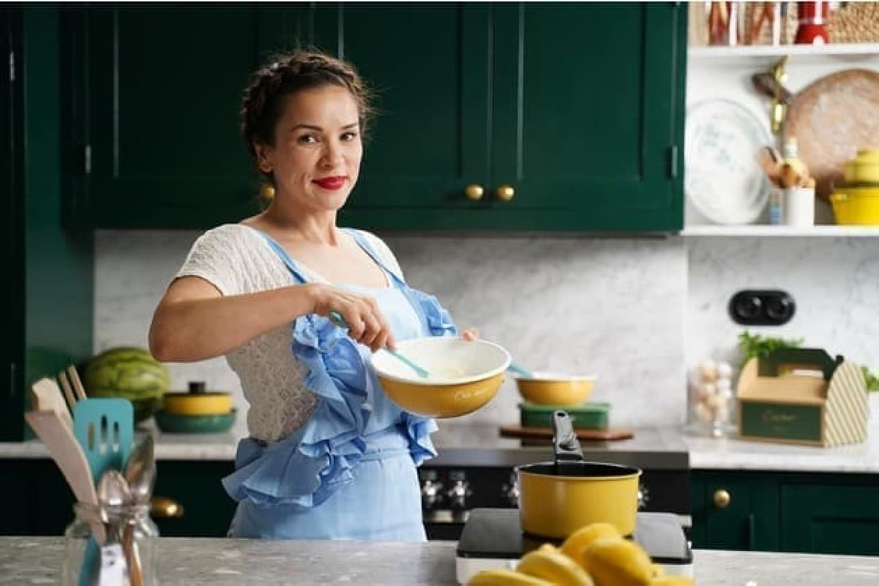 レイチェル・クー氏監修キッチンアイテムがAfternoon Tea LIVINGに -- オリジナルレシピも公開