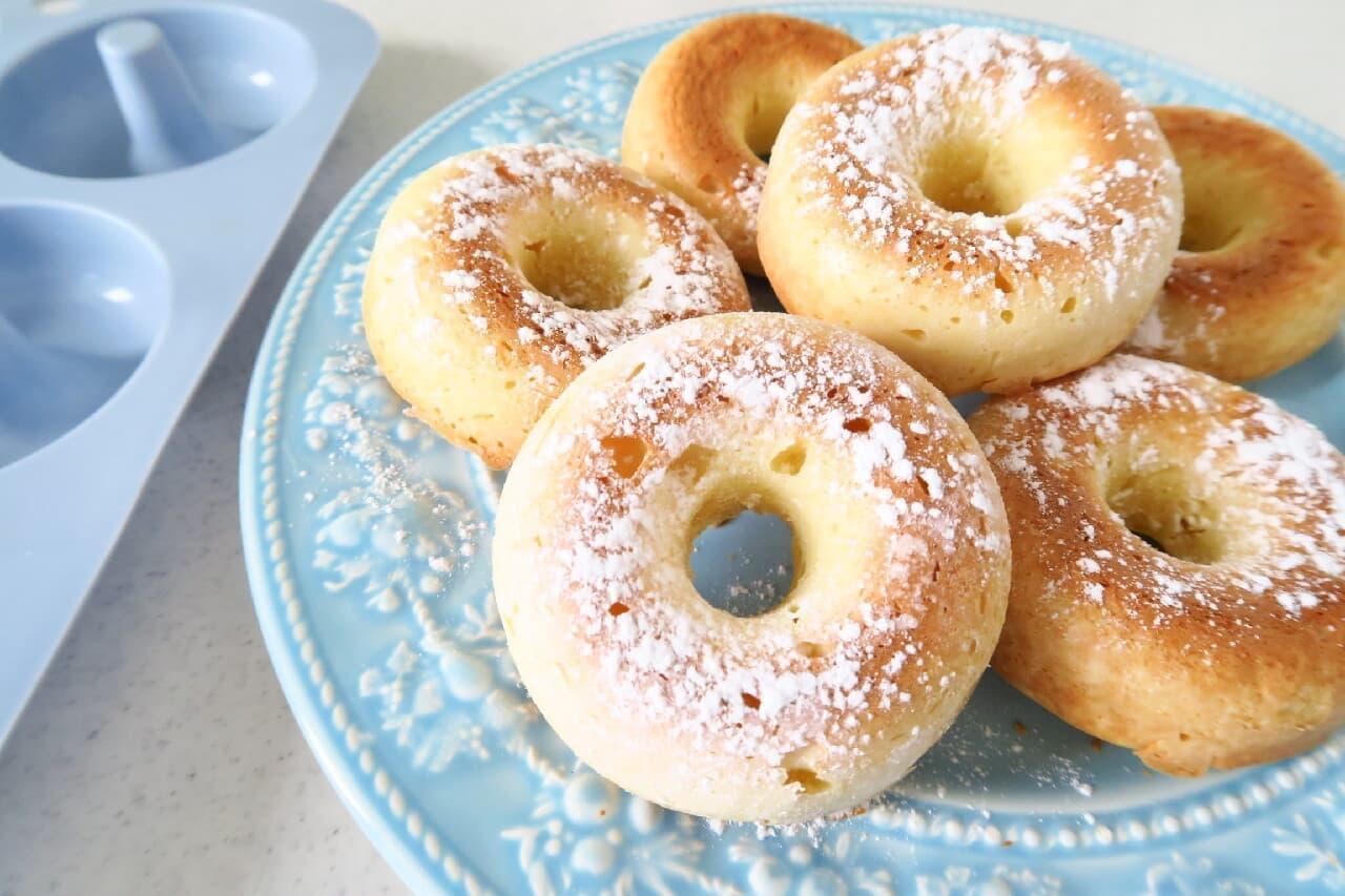ホットケーキミックスのお菓子レシピ3選 -- 炊飯器ケーキ・焼きドーナツなど
