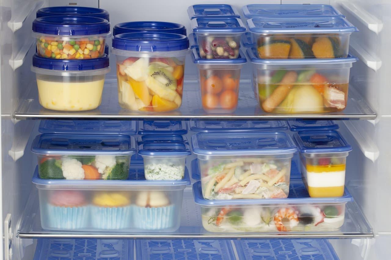 冷蔵庫内の食品の整理整頓に便利な「ジップロック コンテナー」