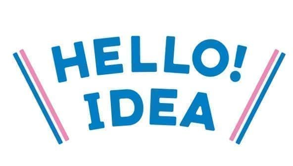 「HELLO! IDEA」のロゴ