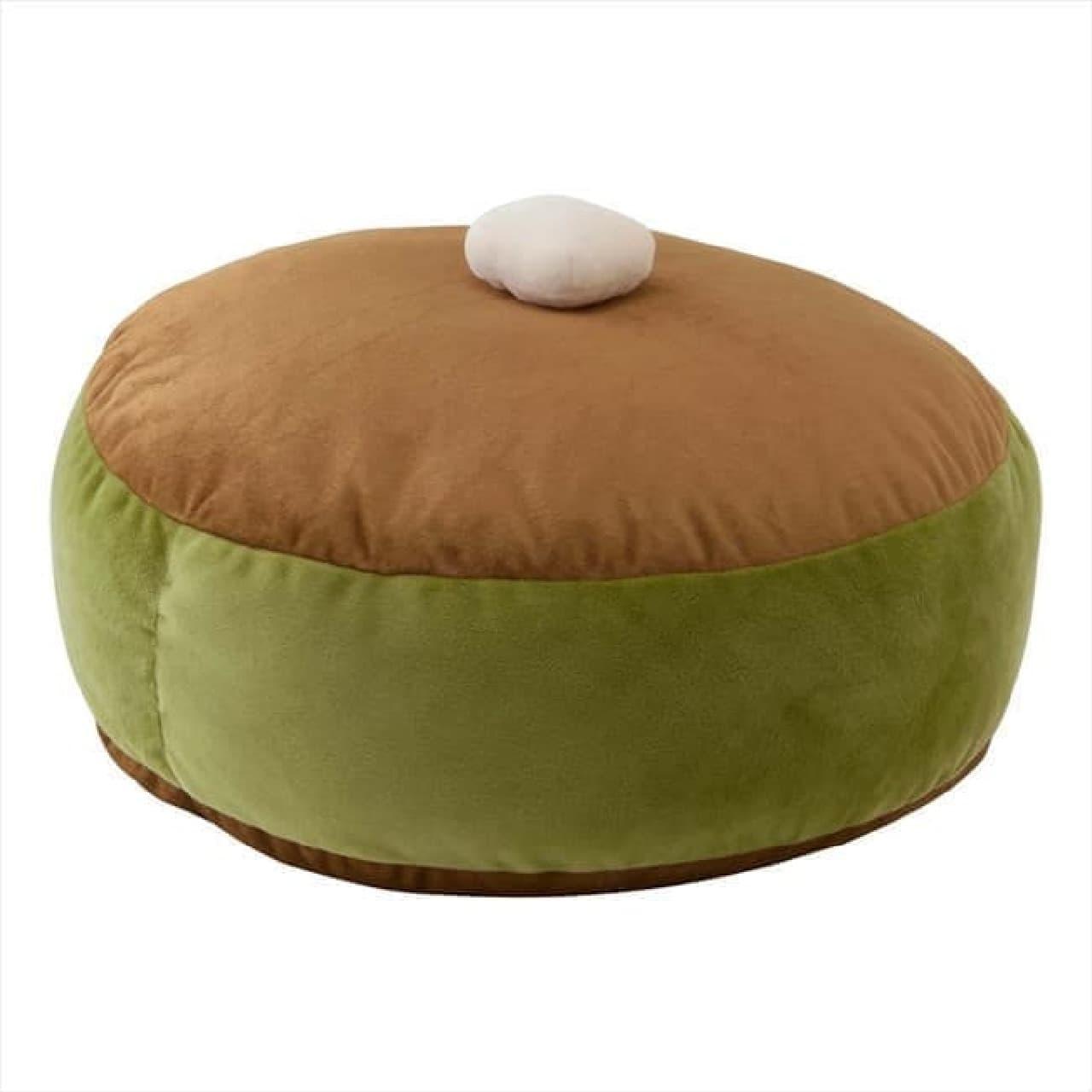 「パンケーキクッション」ヴィレヴァンに -- フランスパン型の抱き枕も