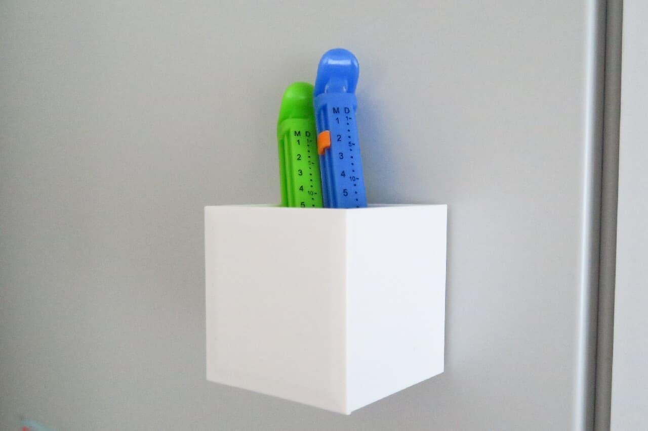 【100均】キッチンの小物収納ケース3選 -- マグネットスイングケース・くっつく缶ケースなど