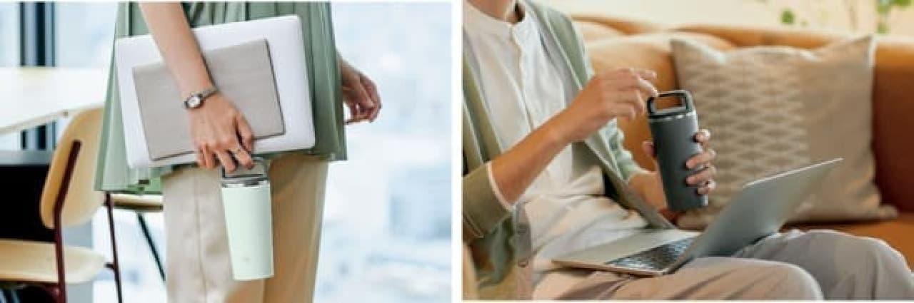 象印「ステンレス キャリータンブラー」発売 -- 好みで選べる機能&おしゃれカラー