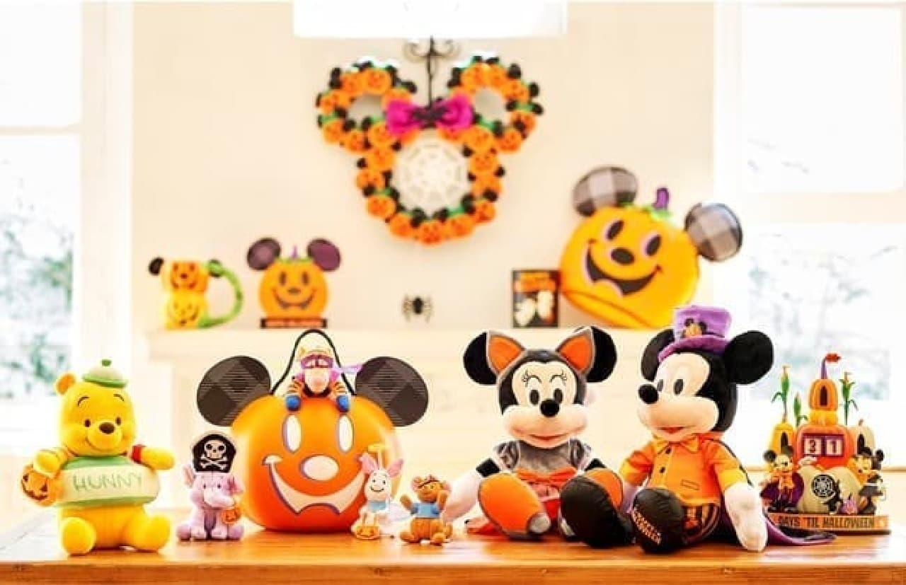 ショップディズニーがハロウィーン特集 -- 可愛いぬいぐるみ・ディズニープリンセスのコスチュームなど