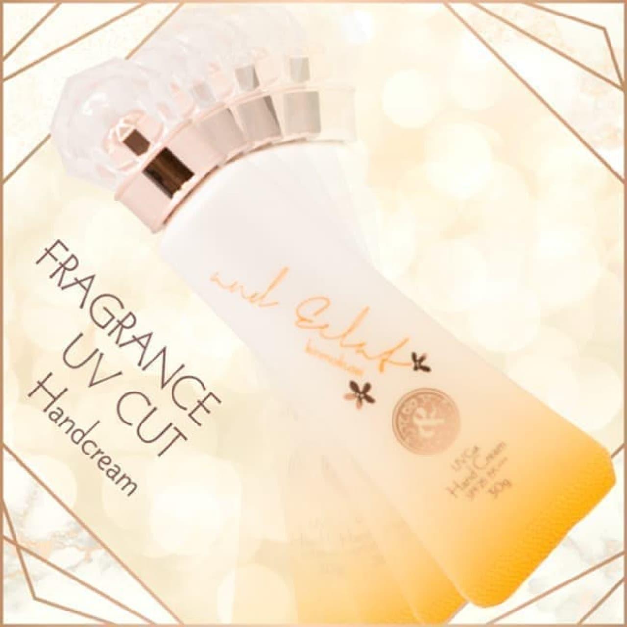 アンドエクラ フレグランスUVカットハンドクリーム キンモクセイの香り30g