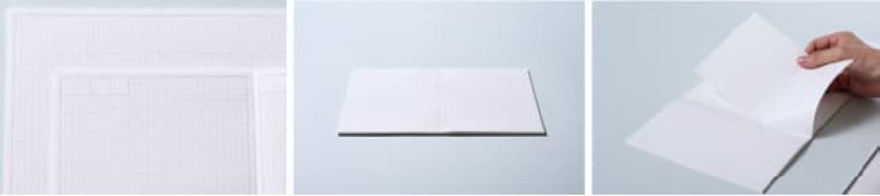 手帳のようなノート「HITOTOKI NOTE」キングジムから -- 手なじみの良いコミックサイズ&のびのび書けるスクエアサイズ