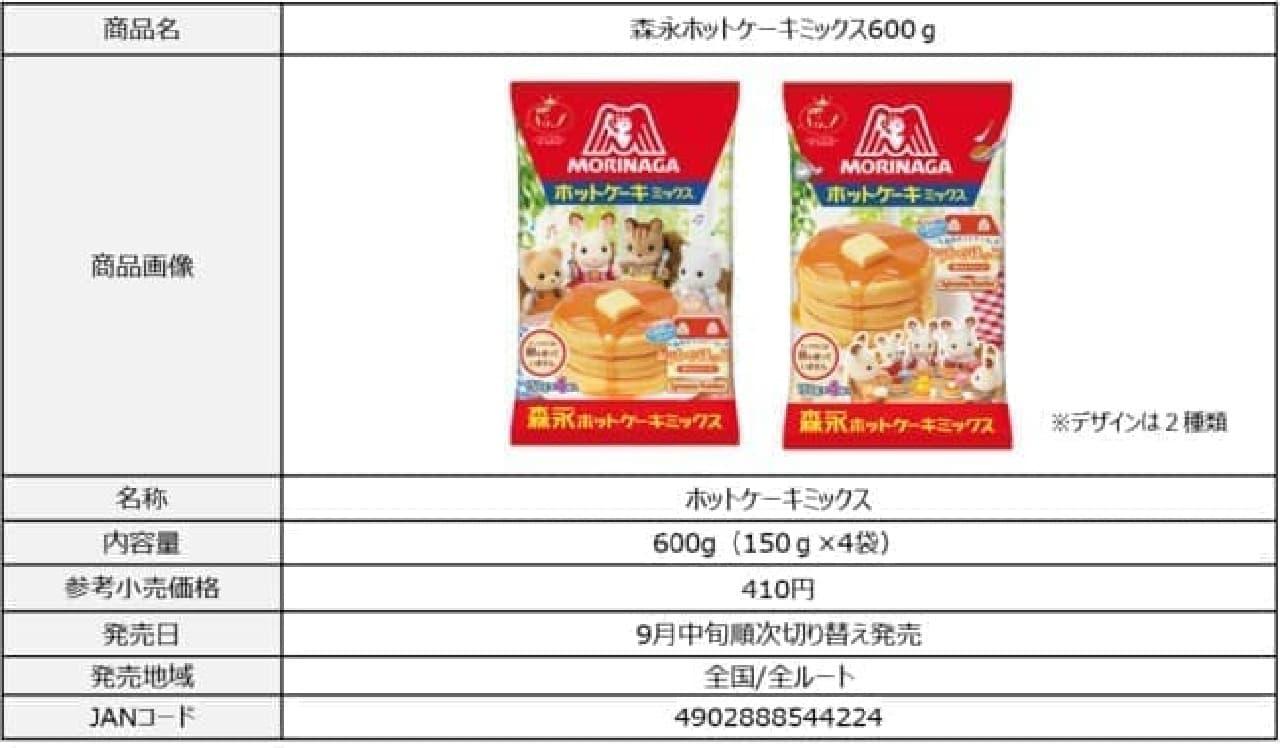 森永ホットケーキミックス×シルバニアファミリーがコラボ -- ホットケーキミックス・シロップが限定デザインに