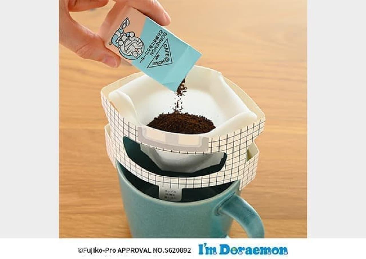 「UCC CAFE@HOME」ドラえもんシリーズ発売 -- どら焼きに合うコーヒーなど可愛いパッケージで