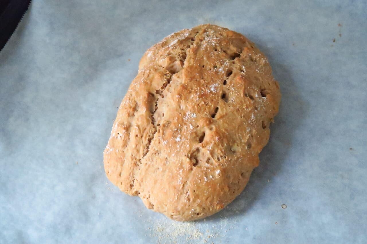 全粒粉ソーダブレッドのレシピ -- ポリ袋で簡単&ヘルシーな味わい