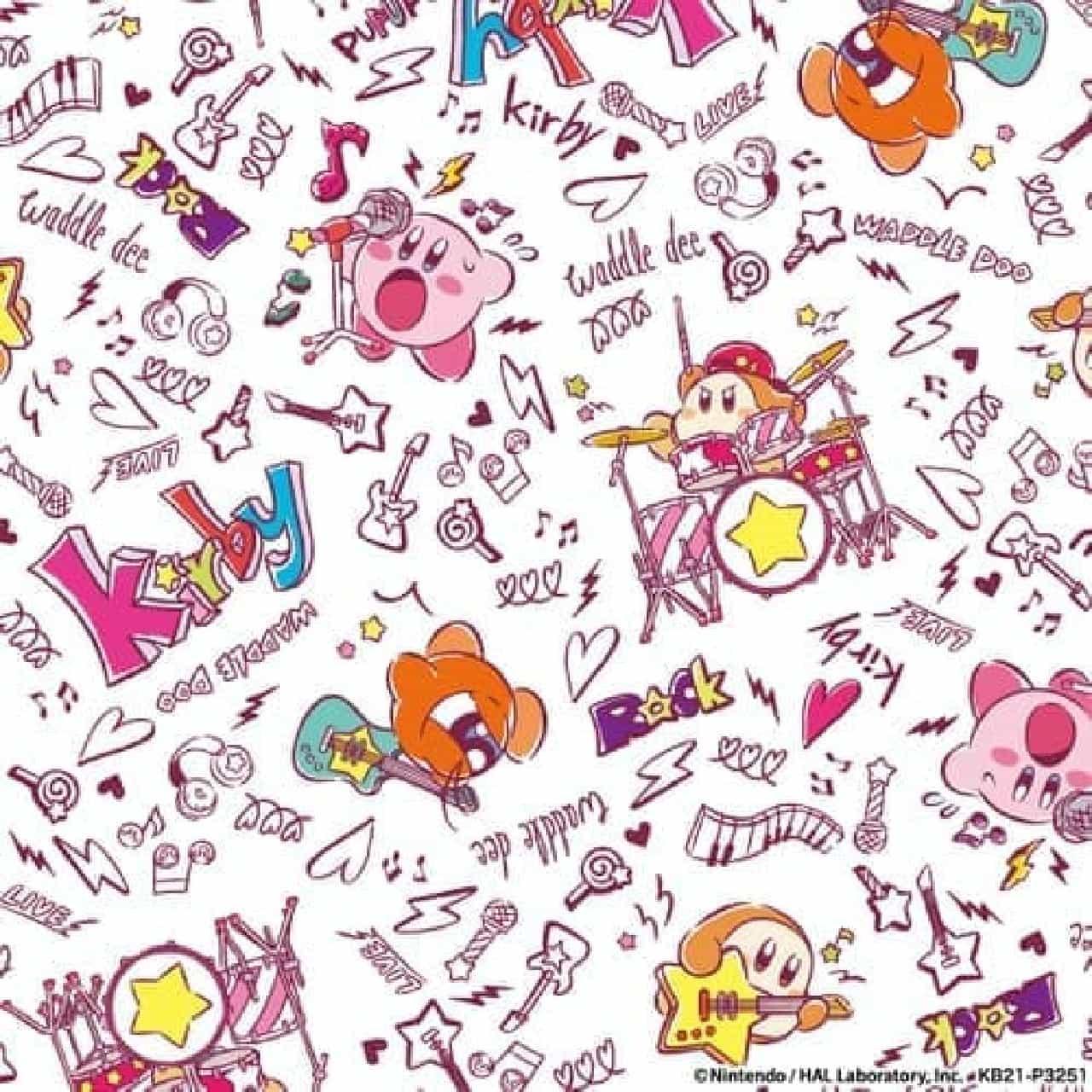 星のカービィ×ITS'DEMOコラボ第5弾 -- ゴースト&ロックのポップなオリジナルアート
