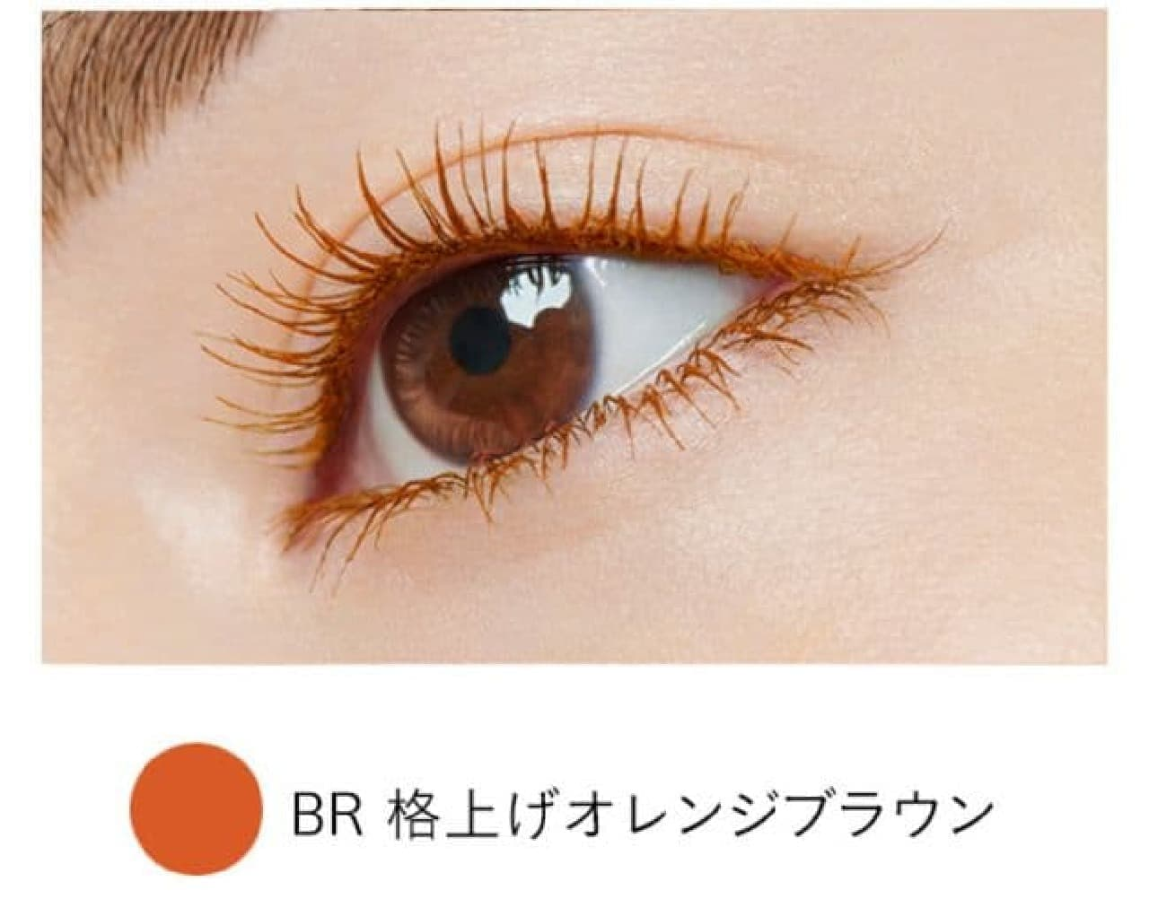 「パラドゥ スタイリングマスカラ」の限定色「BR 格上げオレンジブラウン」